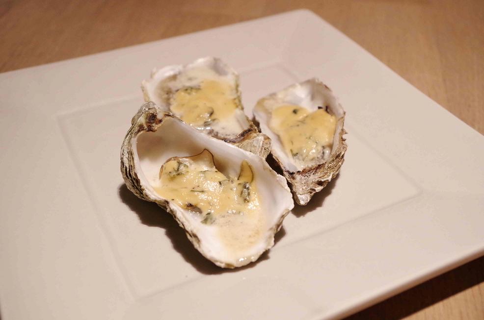 Heiße Austern à la Crème