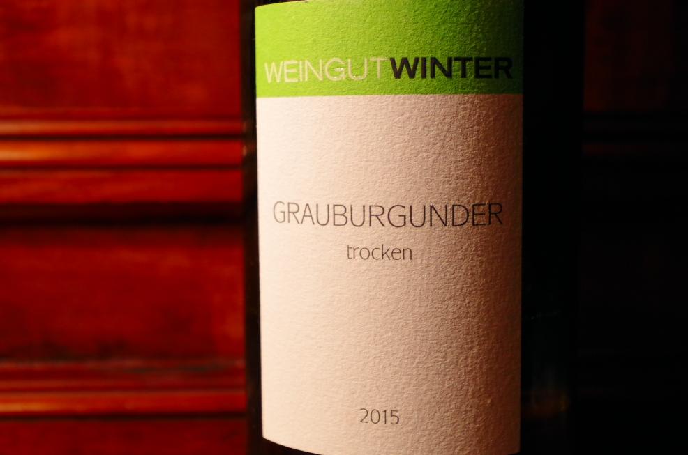 Winter Grauburgunder